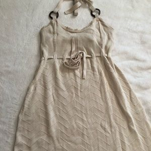 Old Navy sweater knit halter dress Size 1X EUC